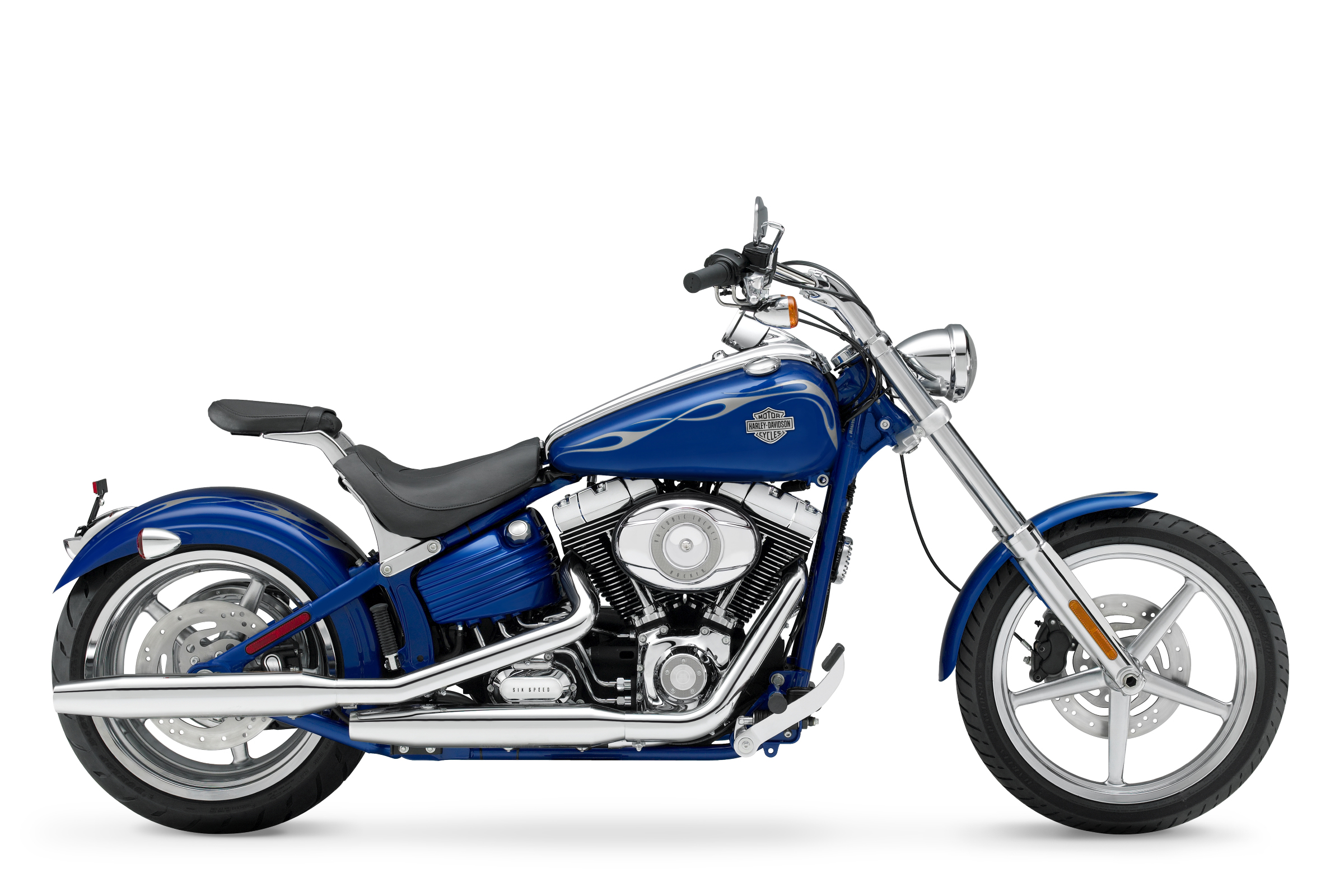 Harley Davidson Softail Rocker C Royalty Free Pictures